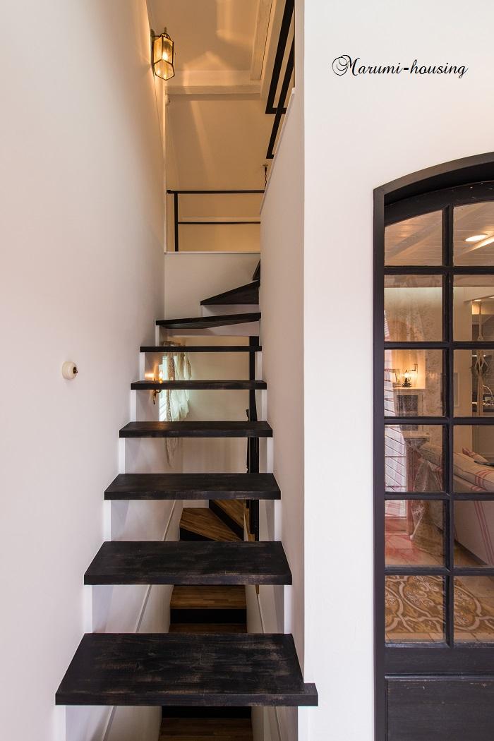 階段をデザインする。