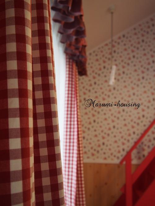 赤い部屋。