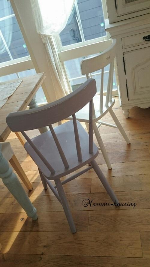 椅子をリメイクする。