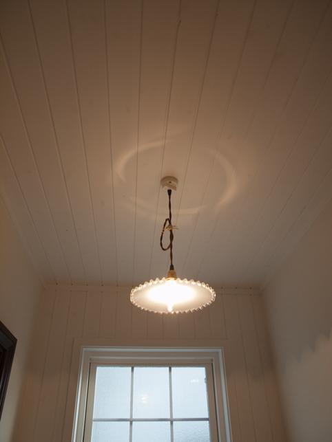 天井板壁仕上げ。