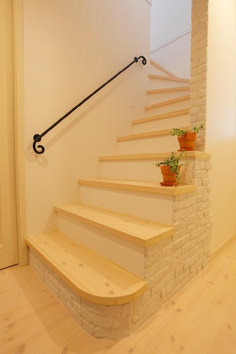階段の演出。