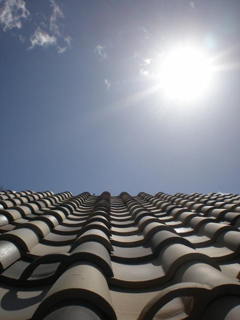 屋根のはなし。