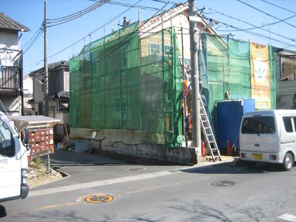 屋根工事完了よ。