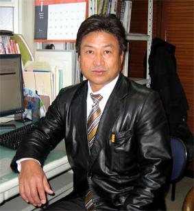スタッフ紹介 社長